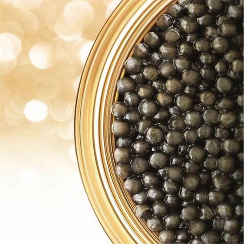 visage or et caviar