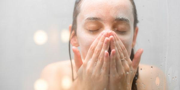 nettoyage visage au savon